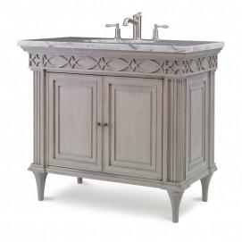Seville мебель для ванной классика из массива дерева светлая 101 см Ambella