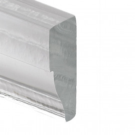 плинтус из литого стекла или хрусталя на заказ