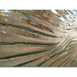 интерьерные перегородки из литого фактурного стекла на заказ