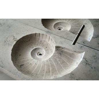 Ammonit раковина столешница из камня Bagno Sasso