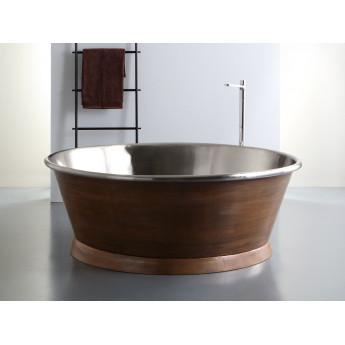 CIRCLE BLEU PROVENCE круглая ванна из меди 160см финиш под бронзу, олово, латунь, никель