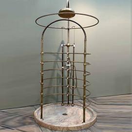 Bleu Provence винтажный душ свободностоящий круглый