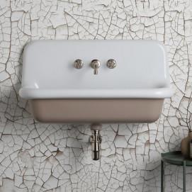 BLEU PROVENCE TrueColors навесная раковина из керамики в винтажном стиле 90 см, белая, черная или цветная