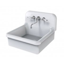 BLEU PROVENCE 60х68 см раковина для кухни ретро белая или цветная, встраиваемая, навесная или на ножках