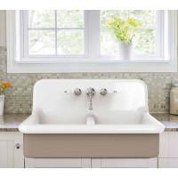 BLEU PROVENCE TrueColors 90x68x50h cm мойка из керамики в винтажном стиле белая или цветная (или с декором), встраиваемая, навесная или на ножках