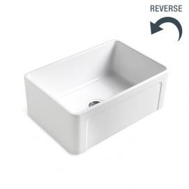 COOK BLEU PROVENCE встраиваемая мойка для кухни из керамики 68х49 и 76х49 см реверсивная, белая, черная, цветная