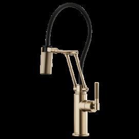 Litze смеситель для кухни с подвижными сегментами с гибким душем