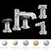 Invari смеситель премиум для ванной/раковины нео классика на три отверстия