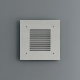 CEA Design решетка отверстия вентиляции для ванной из нержавеющей стали 20х20см