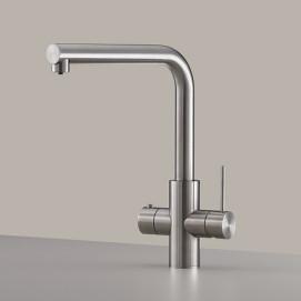 CEA Design смеситель для кухни из нержавеющей стали совмещенный с краном для питьевой воды (горячей или холодной)