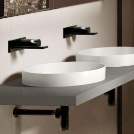 Amedeo Cielo раковина круглая полу встраиваемая белая или цветная 40 см