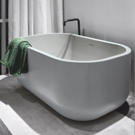Dafne Cielo ванна отдельностоящая из литиевого камня LivingTec 130x80x55