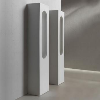 Slot Cielo необычный напольный писсуар в форме колонны белый, черный, цветной