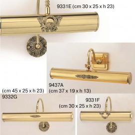 CALYDIA Бра для подсветки зеркала и/или картин, классика, премиум, бронза, никель, золото
