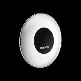 Антивандальная кнопка для дистанционного (бесконтактная) смыва унитаза Delabie