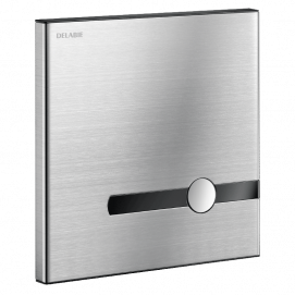 Кнопка из нержавеюшей стали для дистанционного смыва унитаза, с двойным управлением (нажатие или бесконтактная)