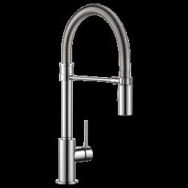 Trinsic Pro полупрофессиональный смеситель для кухни с выдвижным душем в наличии