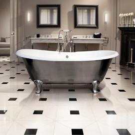 Admiral Lux Devon&Devon ванна на ножках с наружной полировкой