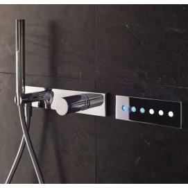Acqua Zone Fantini верхний душ 50х50см с цифровой кнопочной системой управления