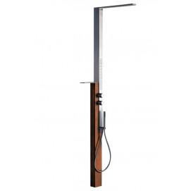 Milanoslim Outdoor Fantini душевая колонна для наружной установки (металл + дерево)