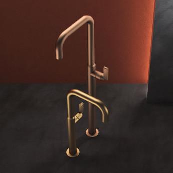 KOE Geda смеситель лофт для раковины на 1 отверстие (серия) 30 / 40 / 50 / 60 см