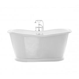 Georgian W Gentry Home ванна акриловая классика овальная 164 или 177 см