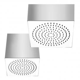33011 33015 душевая головка кубической формы для потолочного крепления SEGNI QUADRO Gessi