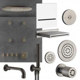 INCISO Gessi элементы встраиваемой душевой системы (форсунки, изливы, каскады)