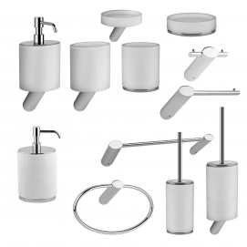 Ovale Gessi аксессуары для ванной комнаты белая керамика СНЯТО!
