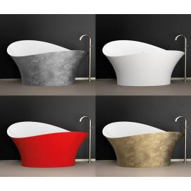 Flower Style Glass Design ванна ассиметричной креативной формы