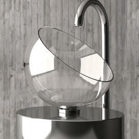 Glass Design Moon раковина из стекла в форме шара