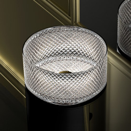 Villa Glass Design раковина из хрусталя круглая