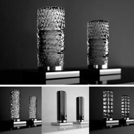 Glamorous Tuning коллекция Glass Design смесители с хрустальными ручками