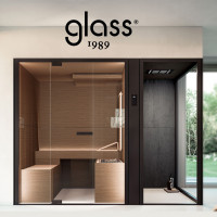 Chillout Glass 1989 многофункциональный домашний спа комплект сауна + хамам + душ