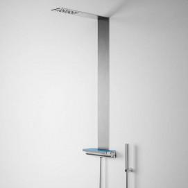 Azulejo Glass1989 душевая панель встраиваемая с полочкой