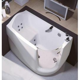 GEN-X Gruppo Treesse компактная ванна с дверцей 130х75