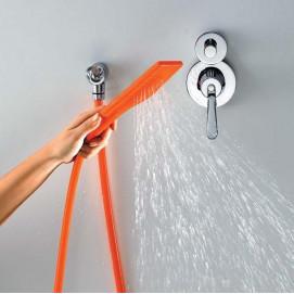 CRUB0914 Agape KAA ручной душ (со шлангом) из гипоаллергенного силикона