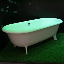Agape OTTOCENTO отдельно стоящая овальная ванна на ножках из минерального литья