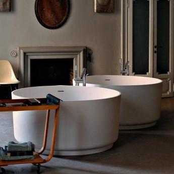 AVAS1041Z Agape IN-OUT ванна круглая отдельностоящая из Cristaplant