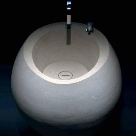 OPIUM Antonio Lupi раковина напольная из камня