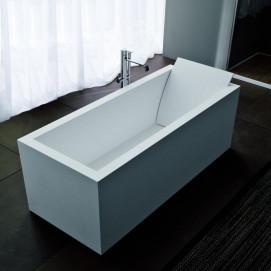 BIBLIO10 Ванна прямоугольная отдельностоящая или встраиваемая Antonio Lupi