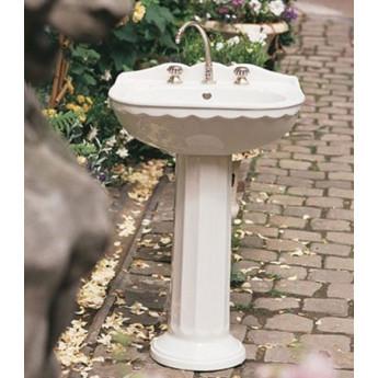 CHARLES HERBEAU раковина подвесная или с пьедесталом, с декором или белая
