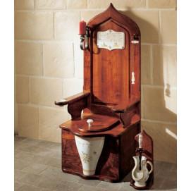 5501 Dagobert HERBEAU деревянный трон унитаз