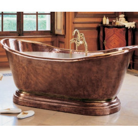 MEDICIS HERBEAU медная ванна свободностоящая  190х88