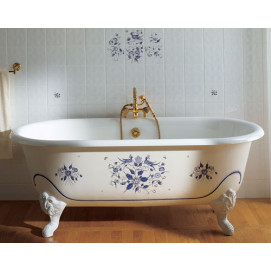 0705.02 JOSEPHINE HERBEAU ванна из чугуна 155 см на ножках