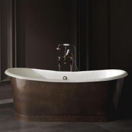 Ambra Devon Devon ванна чугунна с облицовкой снаружи листовой медью