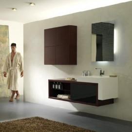Pi Quadro 07 Комплект мебели для ванной комнаты 199 х 51 х 200h BMT