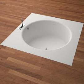 IN-OUT Agape ванна круглая встраиваемая