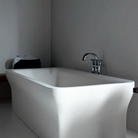 Agape NOVECENTO ванна свободностоящая прямоугольная из минерального литья 180х80см