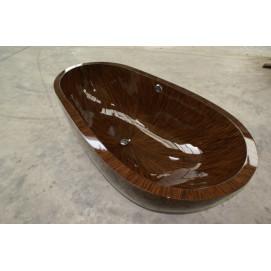 Ocean Sailor Bagno Sasso деревянная ванна овальная